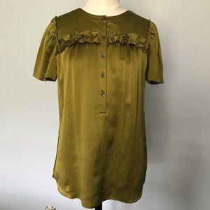 JCrew Pebble Silk Tee Shirt Blouse